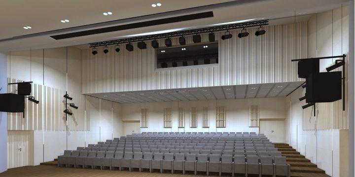 Sala audytoryjna, Centrum Dziedzictwa Kulturowego, Pruszków