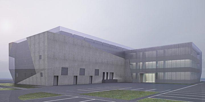 Budynek biurowo-serwerowy, Jawczyce